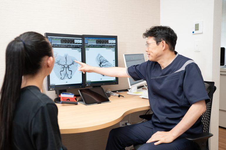 頭痛のご相談と頭の検査診断